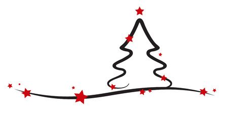 Line Drawing Christmas Stock Photos And Images.