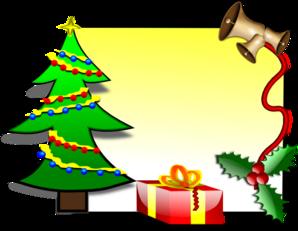 Christmas Card Template Clip Art at Clker.com.