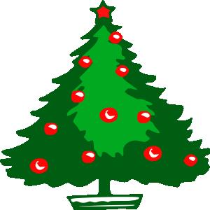 Christmas Tree Clip Art at Clker.com.