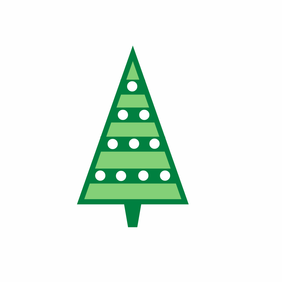 Microsoft clip art christmas tree.