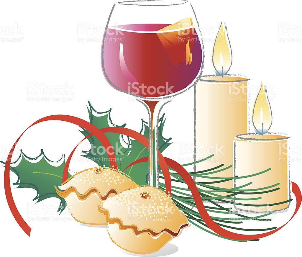 Christmas clip art mince pie.