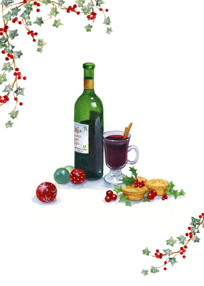 Free Christmas Wine Cliparts, Download Free Clip Art, Free Clip Art.