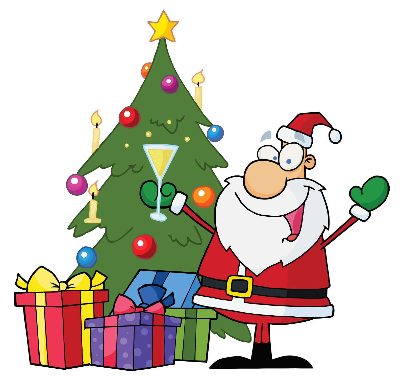 Free Merry Christmas Clip Art.