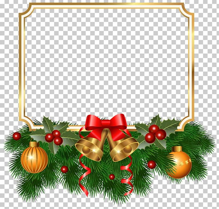 Christmas Tree Christmas Ornament Fir PNG, Clipart, Border, Borders.