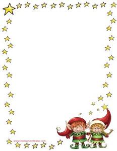 Free Christmas Clipart Borders Frames.