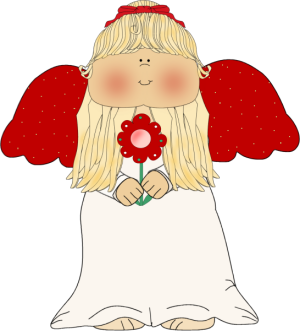 Clipart Christmas Angel.