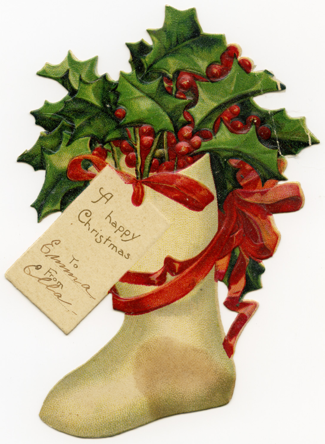 Antique Christmas Clipart.