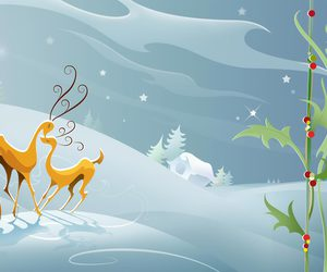 Desktop Clipart Christmas Scenes.