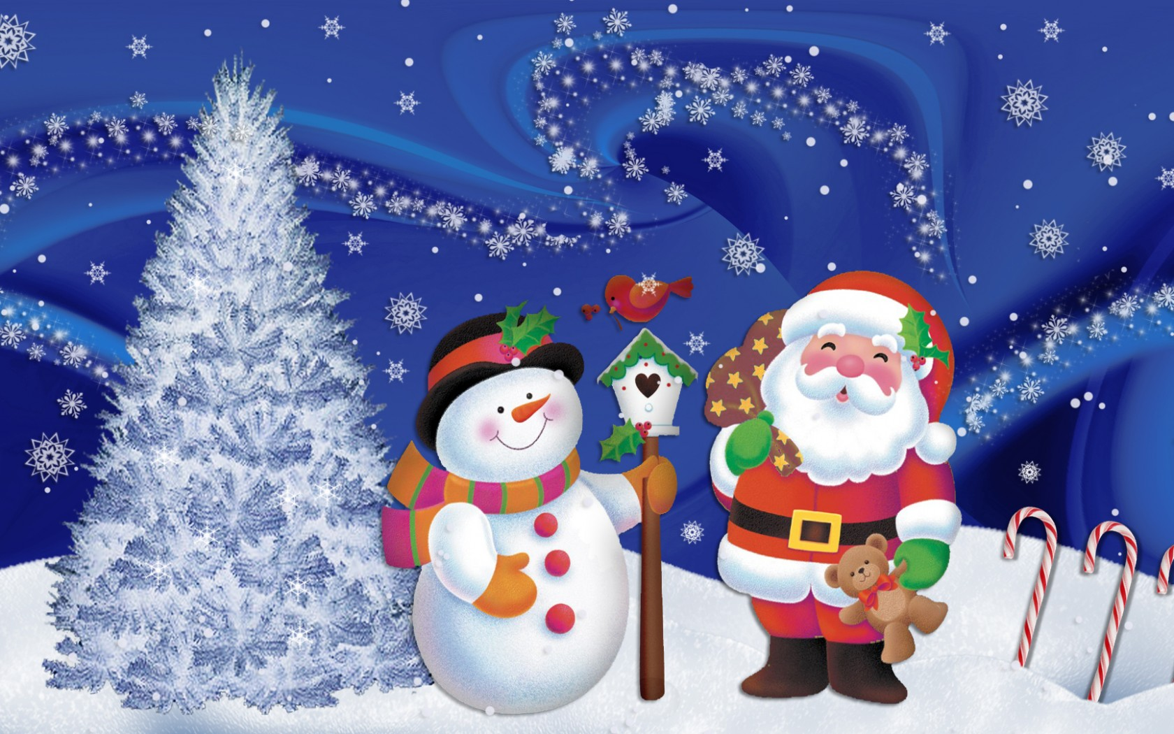 Free Clipart Christmas Desktop Backgrounds.