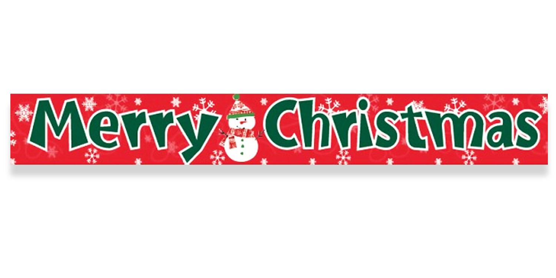 Christmas Banner Clip Art.