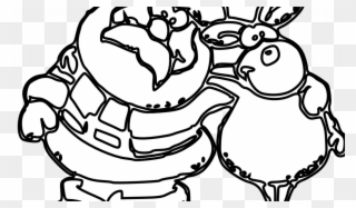 Free PNG Christmas Border Black And White Clip Art Download.