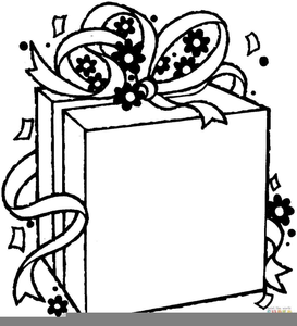 Religious Christmas Clipart Black White.