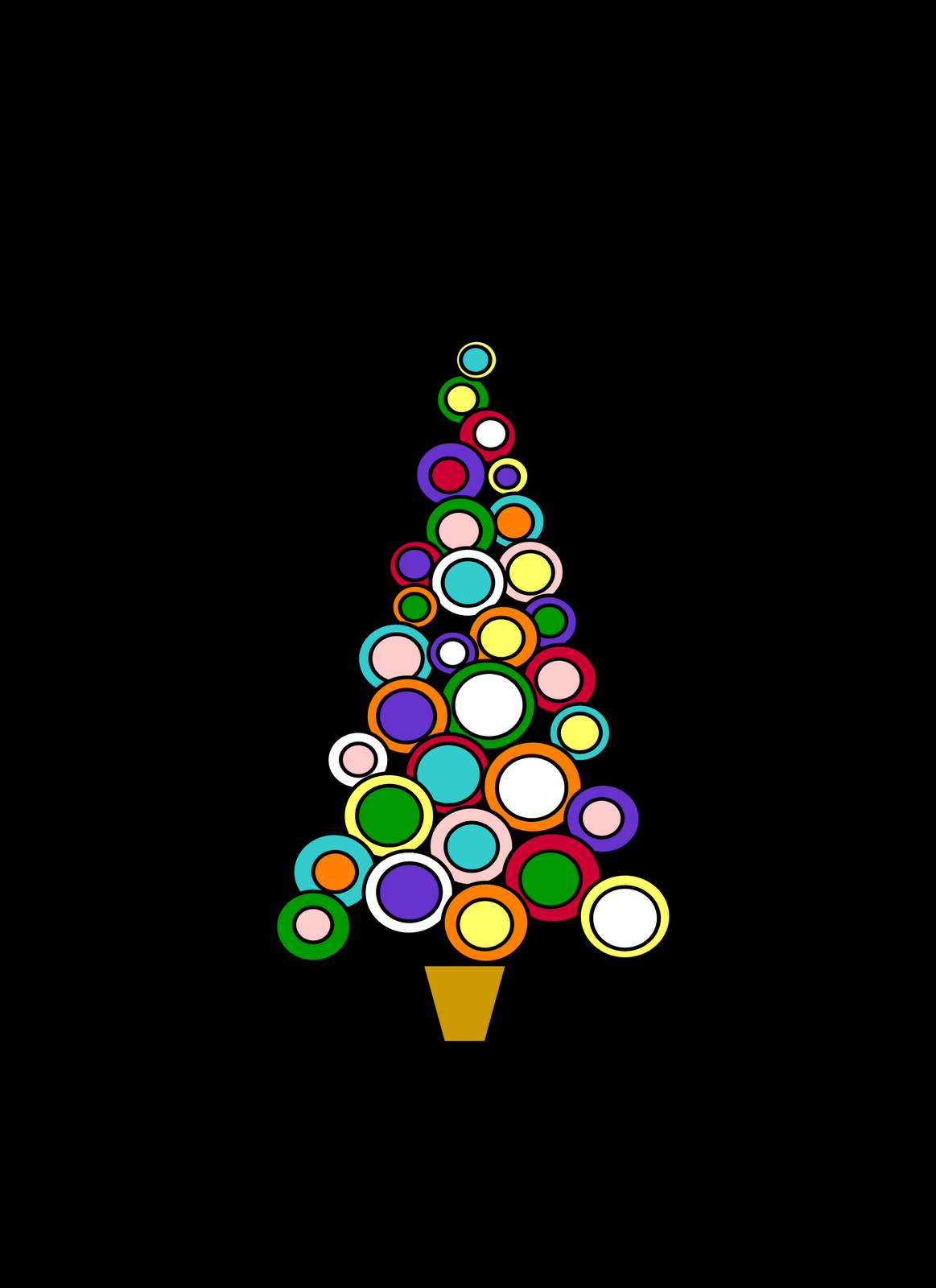 Free Clipart N Images: Free Christmas Flower & Tree Clipart.