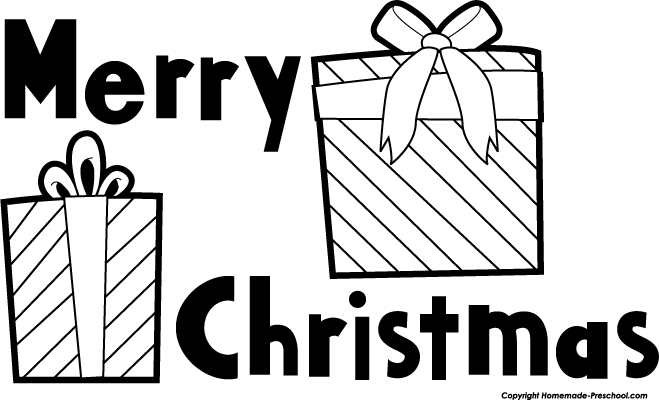 Merry christmas black and white merry christmas clipart black and.