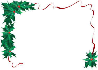 free christmas clipart borders for word clipground