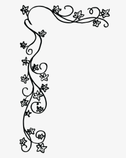 Free Christmas Border Black And White Clip Art with No.