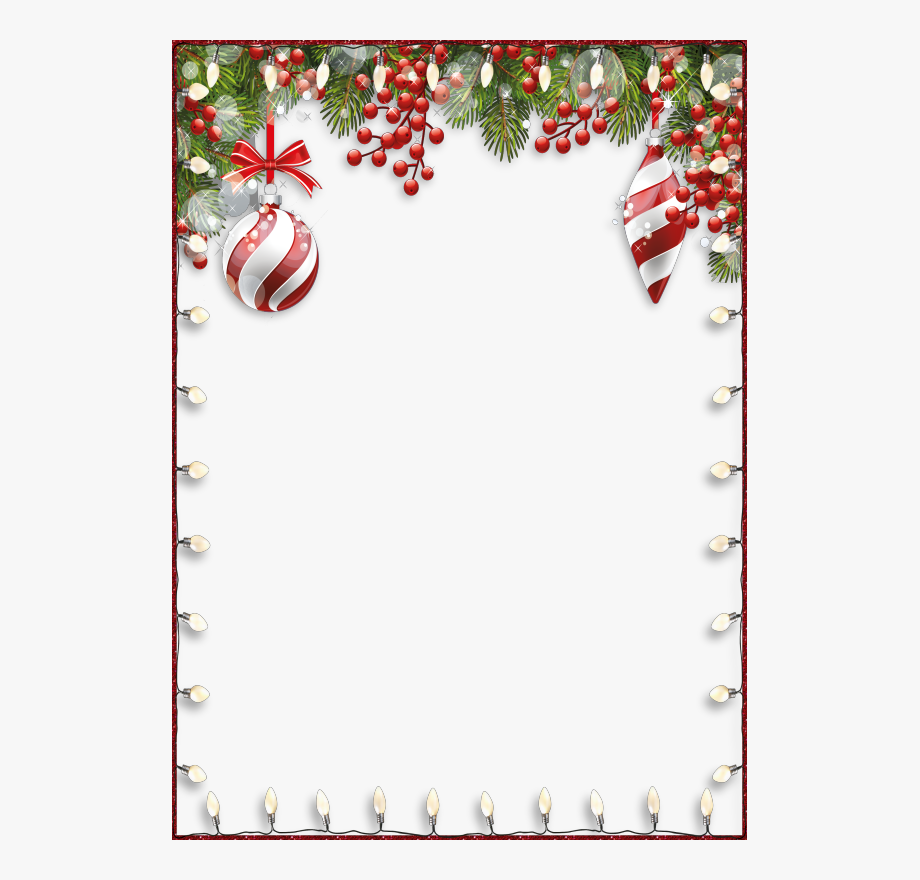 Christmas Clipart Page Borders.