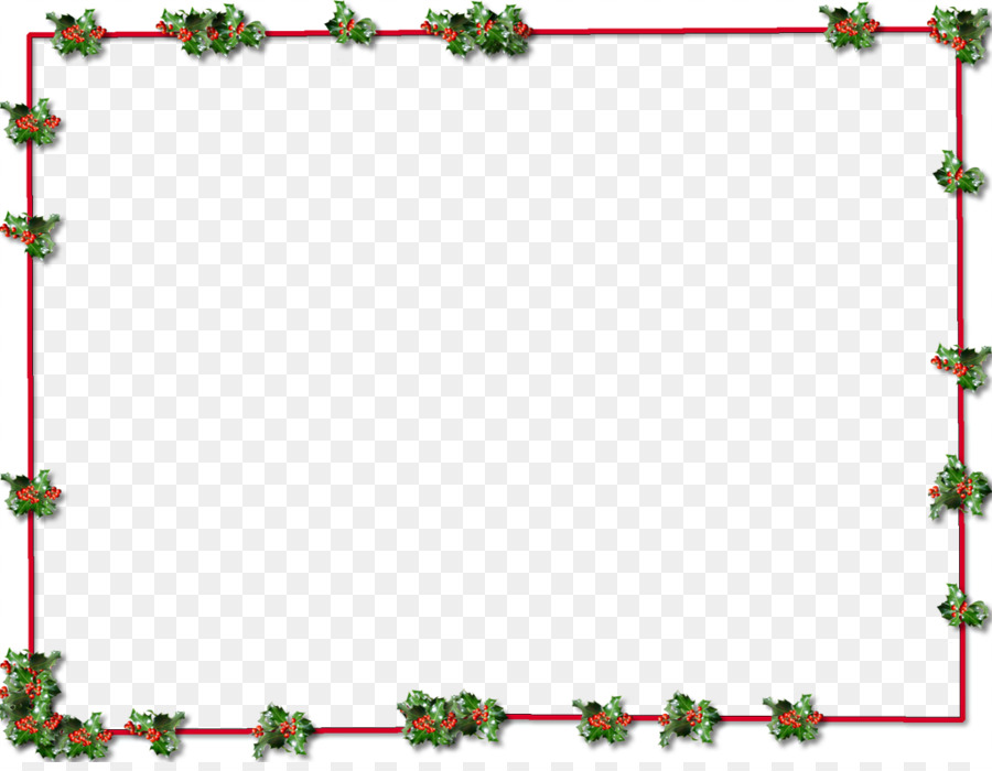 Free Christmas Border Transparent Background, Download Free.