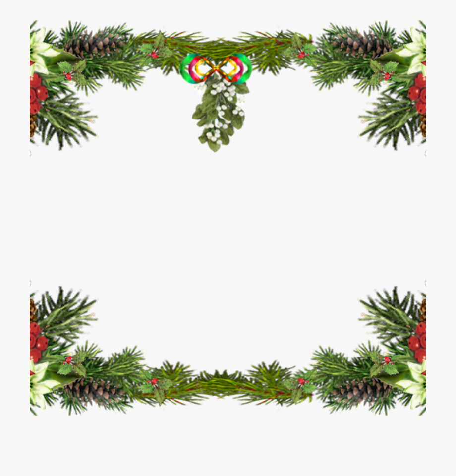 Free Christmas Clipart Borders Printable.