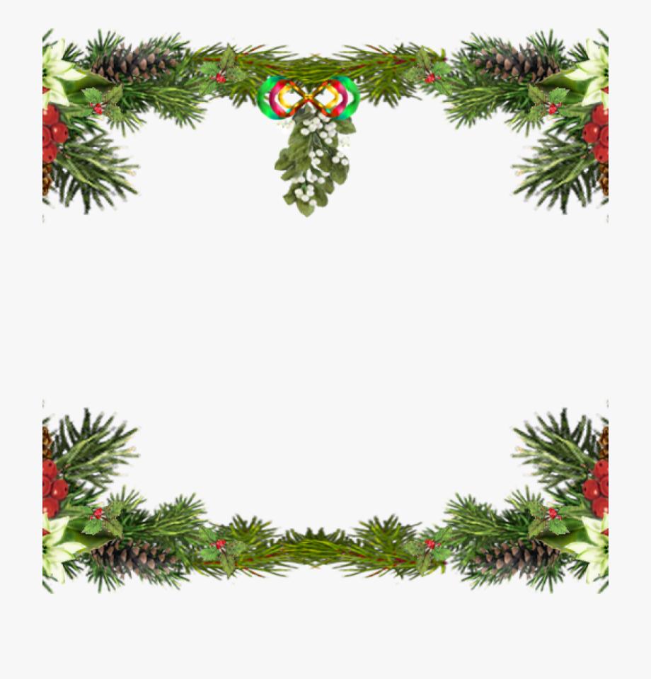 Free Christmas Clipart Borders Printable.