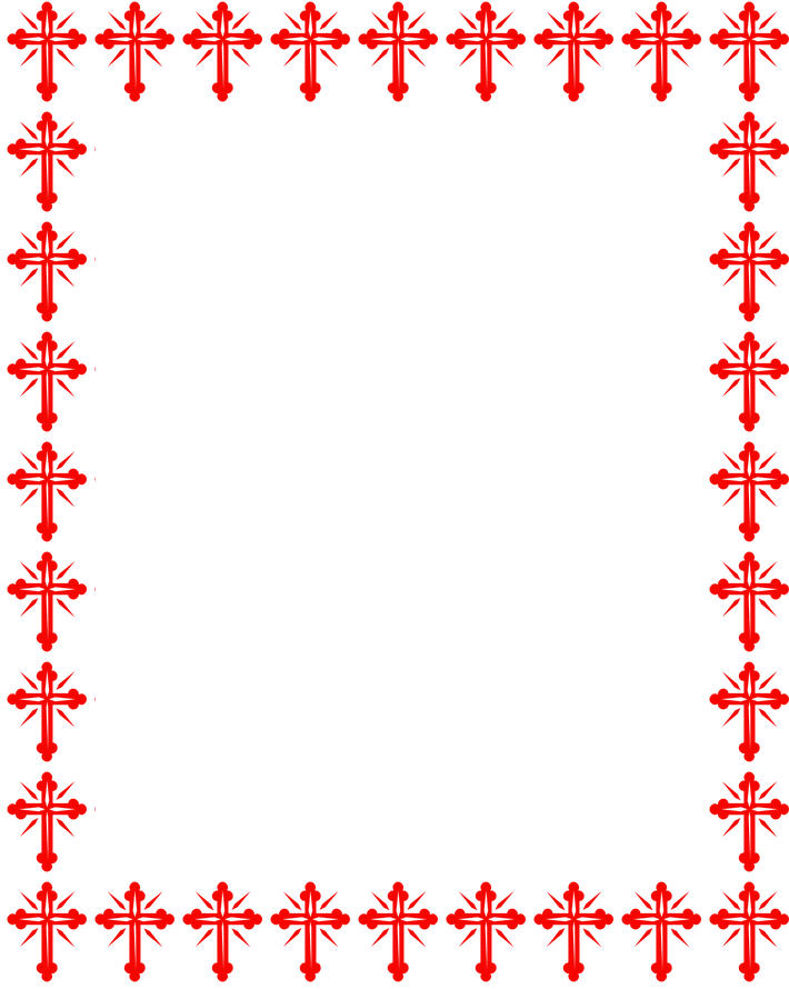 christmas clipart borders religious #9