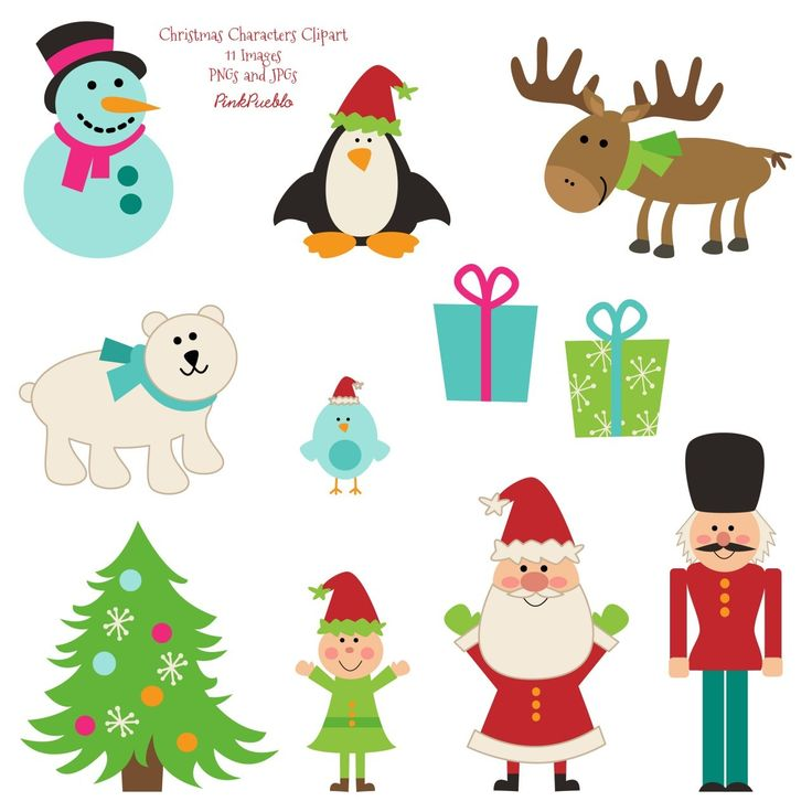 Pictures Of Christmas Characters.