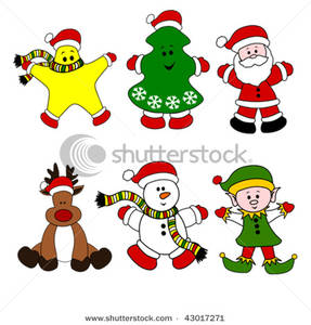 Character clipart xmas, Character xmas Transparent FREE for.