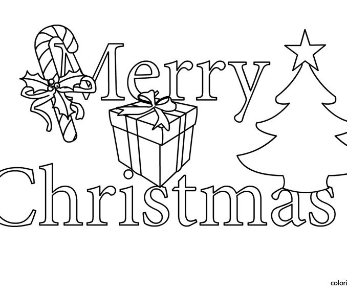 Christmas Clipart Coloring Pages at GetDrawings.com.