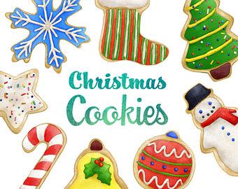 Christmas clipart sugar cookie, Christmas sugar cookie.