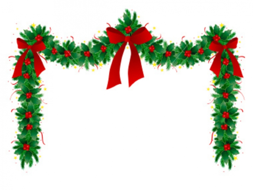 christmas clipart corner borders.