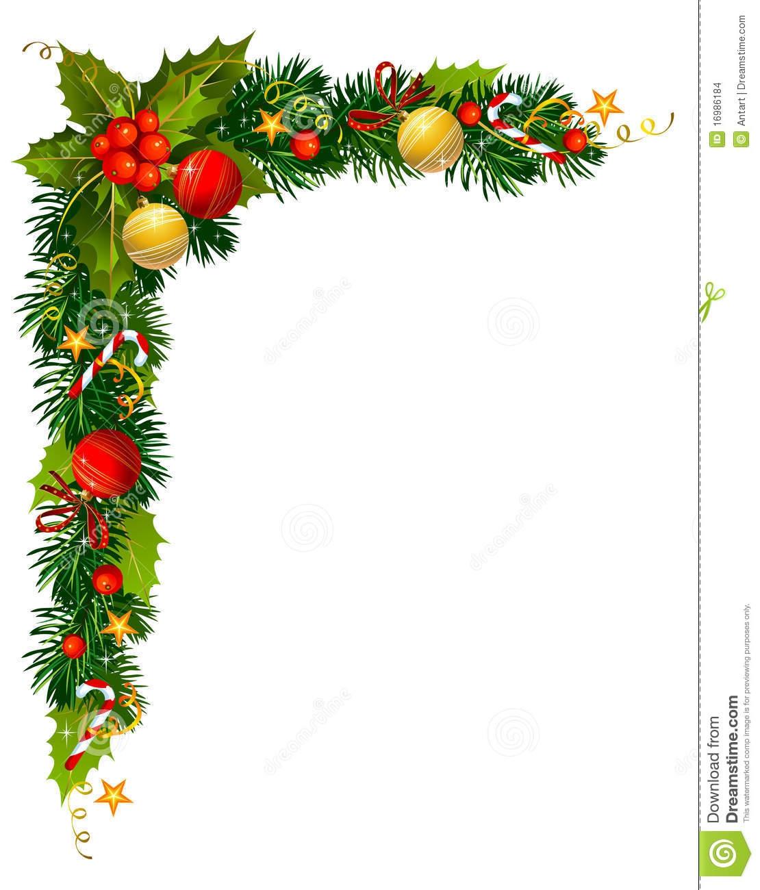 Christmas Corner Clipart#2051773.