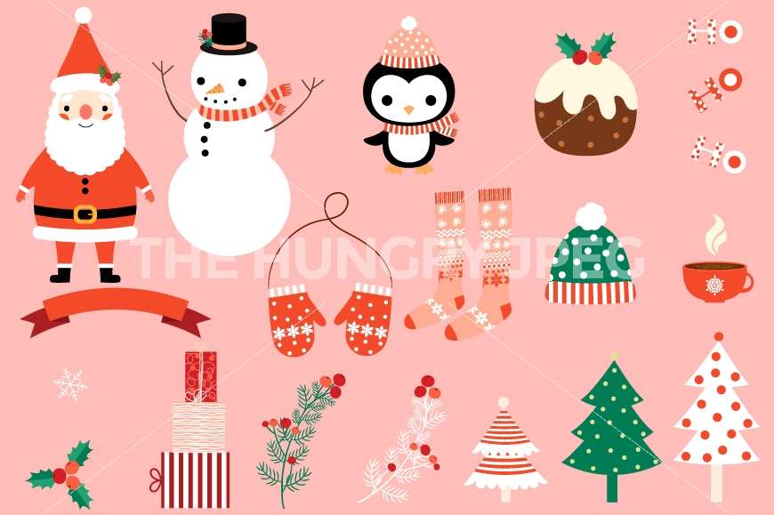 Christmas clip art cute.