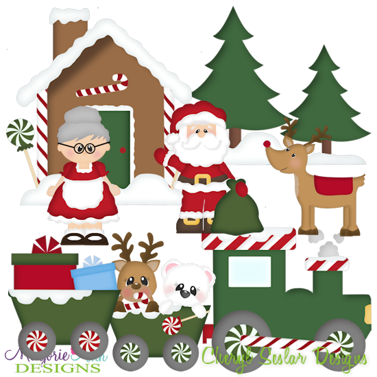 Christmas Village~SVG.