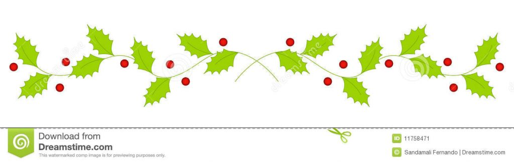Christmas divider clipart 4 » Clipart Station.