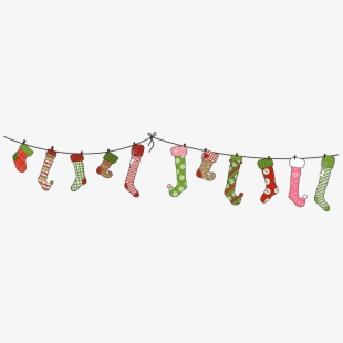 Christmas Divider PNG Images.