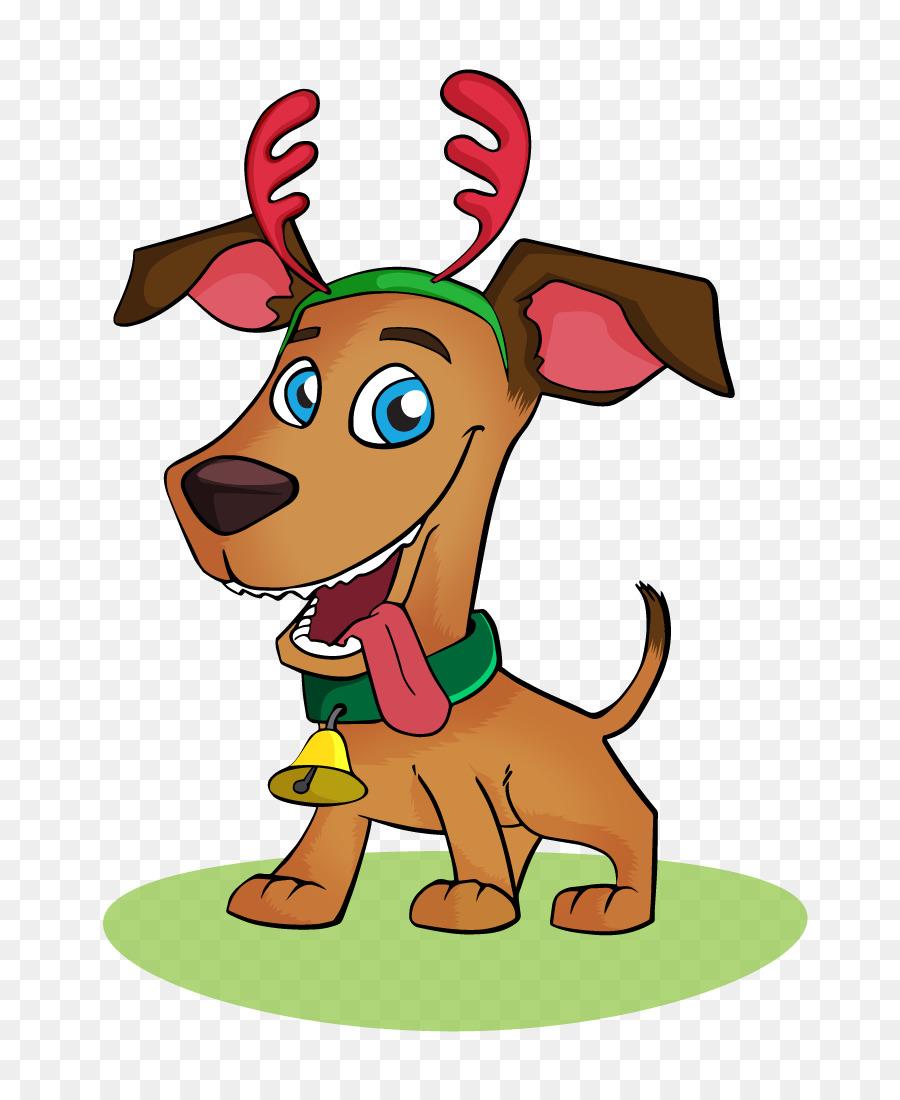 Reindeer Christmas clipart.