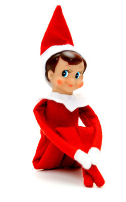 Let's Bench The Elf on the Shelf.
