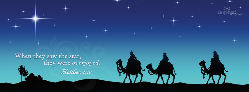 Christmas Eve Advent Facebook Cover Clipart.