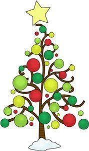 whimsical christmas clip art.