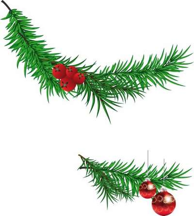 Free Christmas clipart png for photo design.