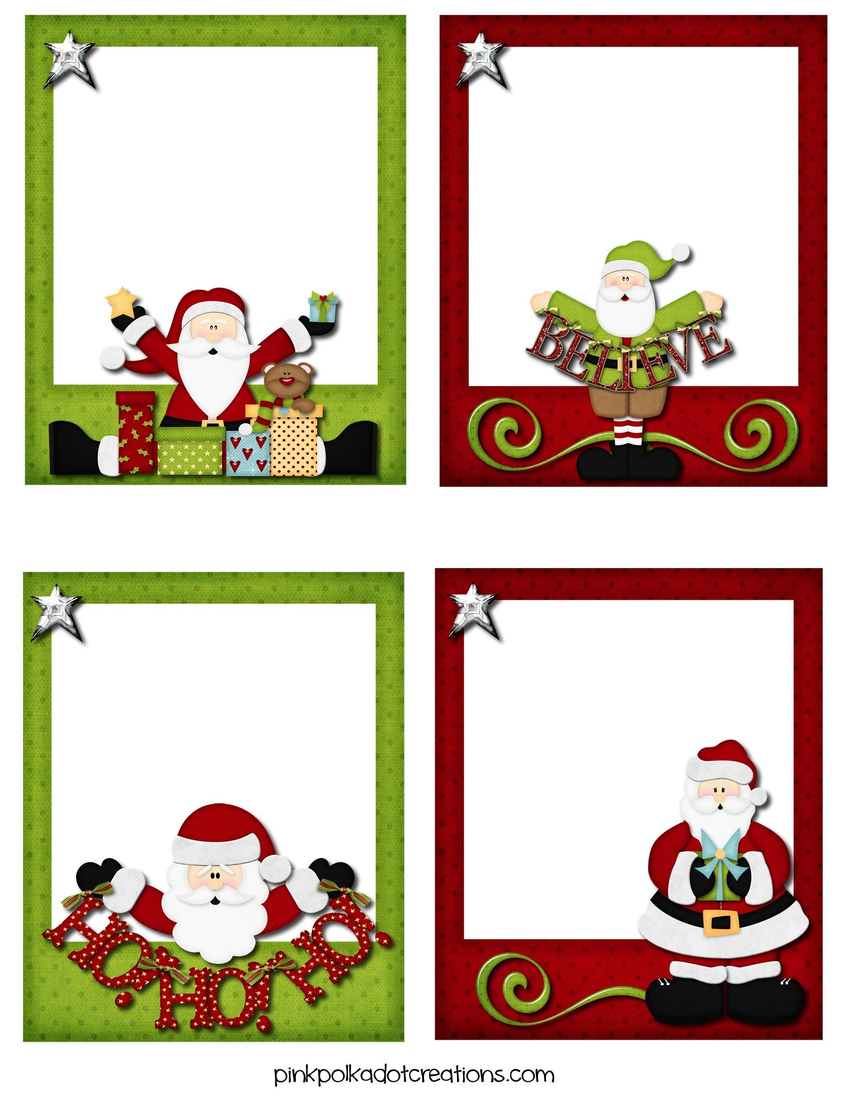 Christmas Clipart For Return Address Labels.