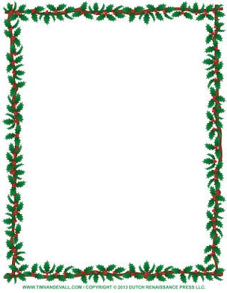 Christmas border for word document free.