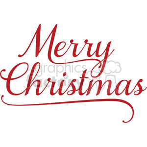 merry christmas word art clipart. Royalty.