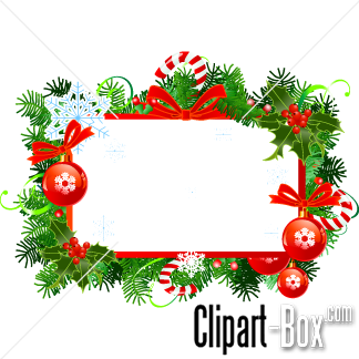 Christmas Frames Clip Art.