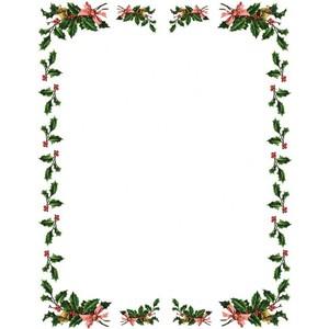 Christmas Clip Art Frames.