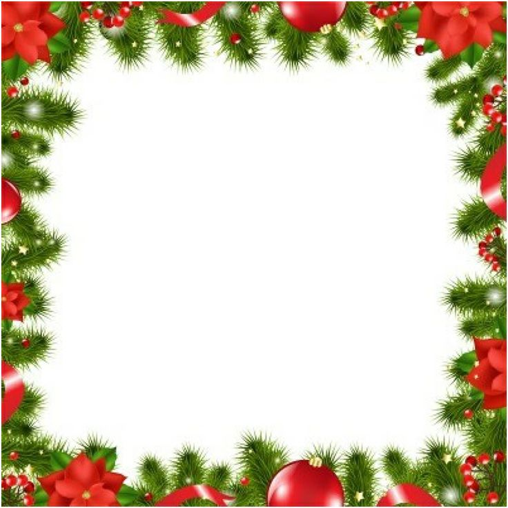 Christmas Picture Frame Clip Art Free.