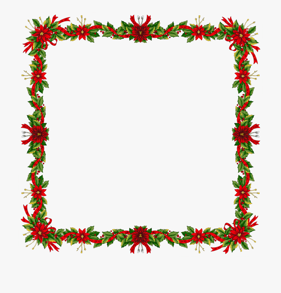 Png Freeuse Download Free Christmas Clipart Frames.