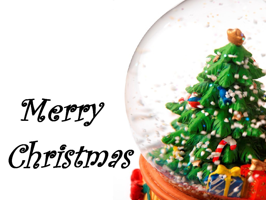 Animated Merry Christmas Clipart.