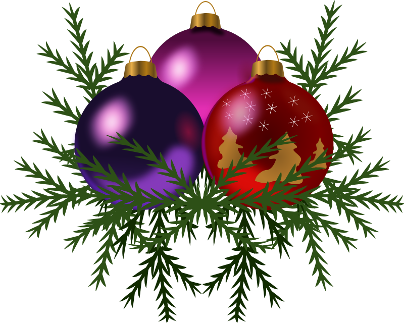 Public Domain Christmas Clipart.