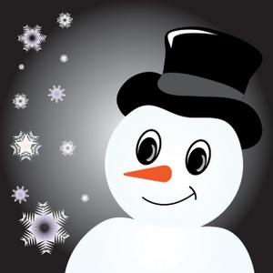 Free Snowman Clip Art Image.